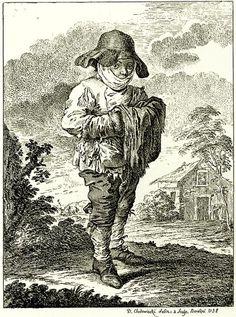Daniel Nikolaus Chodowiecki : Bauernjunge (Peasant Boy), 1758