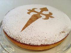 Tarta De Santiago   Santiago Almond Cake - Gluten & Yeast Free