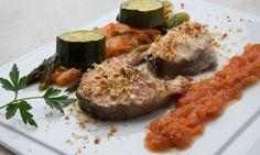 #LaReceta · Bacalao fresco con hortalizas asadas | #Gatronomía