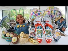EASTER EGG HUNT! Maxi Kinder Surprise Eggs - Giant Golden Eggs - Shopkins - Peppa Pig Toys - YouTube