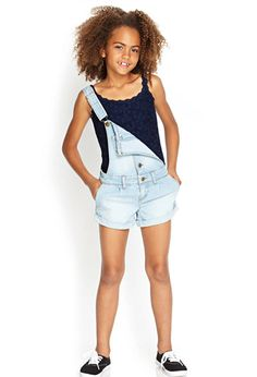 Floral Lace Cami (Kids) | Forever 21 girls - 2000123069