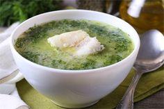 Рецепт укропного супа с морской рыбой / Меню недели