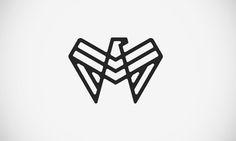Eagle Monogram Logo by Levi Lowell