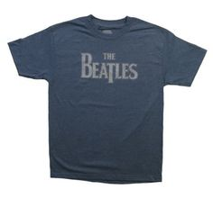 Great and classic look for the Beatles!  http://www.t-shirts.com/the-beatles-vintage-logo-tshirt.html