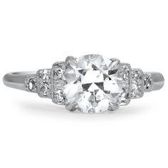 The Larkspur Ring from Brilliant Earth... wishful thinking for sure, but god is this gorgeous :p