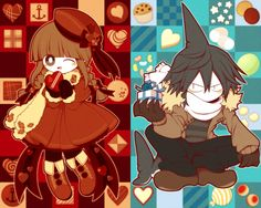 Wadanohara and Samekichi ~ Wadanohara and the Great Blue Sea (Mogeko / Okegom / Funamusea / DeepSeaPrisoner) Overwatch, Fanart, Rpg Horror Games, Sea Witch, Grey Gardens, Deep Blue Sea, Cartoon Games, Japanese Artists, Cute Art