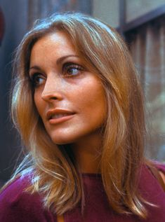 Sharon Tate visiting the set of 'Rosemary's Baby', August 28, 1967 at Fifth Avenue and 57th Street in New York City. Photo by Santi Visalli