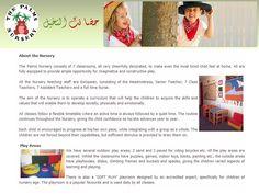 Schools THE PALMS NURSERY Dubai UAE