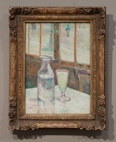 Vincent van Gogh 1887 Café table with absinth