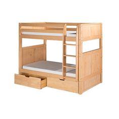 Camaflexi Twin Over Twin Standard Bunk Bed   AllModern