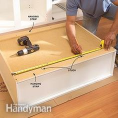 With these basic techniques, you can install your cabinets straight, solid and true