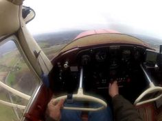 Cessna 140 Take-Off and Landing - A GoPro Video From the Cockpit