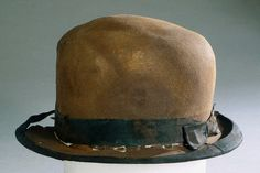 A hat recovered from the RMS Titanic.