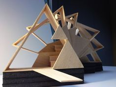 Master of Architecture - Gallery - Reading Pavilion for the .RIT Master of Architecture - Gallery - Reading Pavilion for the . Architecture Triangle, Concept Models Architecture, Pavilion Architecture, Architecture Student, Interior Architecture, Sustainable Architecture, Residential Architecture, Contemporary Architecture, Geometry Architecture