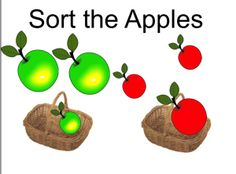 www.smartboardideas.com SMART notebook File FREE sort apples by colour