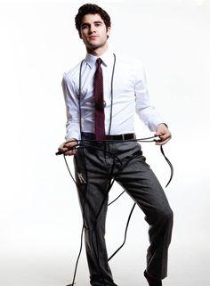 Darren Criss looking sharp