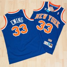 Nba #swingman patrick #ewing #33 new york knicks  basketball #jersey blue  s m l,  View more on the LINK: http://www.zeppy.io/product/gb/2/232024003584/