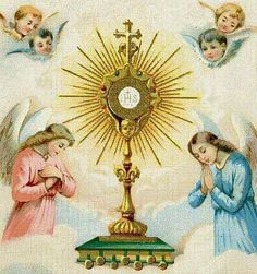Angels and eucharist