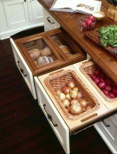 Hidden/Organized Veggie N' Fruit Trays