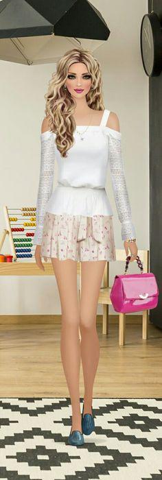 cute but  like longer skirt