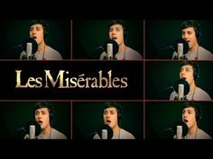 One Man Les Miserables Nick Pitera Medley. This is ridiculously awesome for one person to be able to do this....