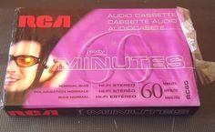 6 pcs. RCA Hi-Fi Stereo 60 Minute Audio Cassette Tapes RC60 NEW Sealed