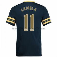 Jalkapallo Pelipaidat Tottenham Hotspurs 2016-17 Lamela 11 Vieraspaita