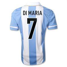 DI MARIA Home Argentina Soccer Jersey 2011-2012