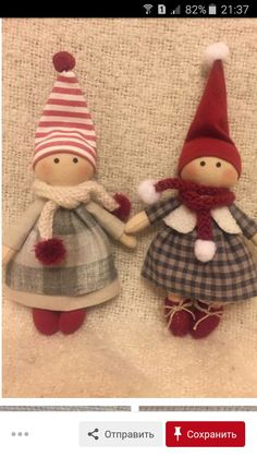 Diy Crafts For Gifts, Felt Crafts, Holiday Crafts, Handmade Ornaments, Handmade Christmas, Christmas Ornaments, Cute Sewing Projects, Cottage Crafts, Bazaar Crafts