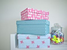 RéCréation 8 : DIY customiser des boites en carton • Hellocoton.fr
