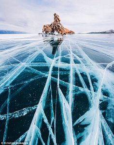 Russian photographer captures stunning images of frozen Lake Baikal, the oldest and deepest lake in the world Lago Baikal, Winter Photography, Landscape Photography, Travel Photography, Night Photography, Landscape Photos, Photography Tips, Levitation Photography, Wedding Photography