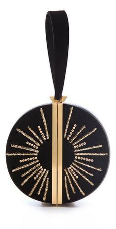 Diane von Furstenberg Limited Edition Sun Circle Clutch