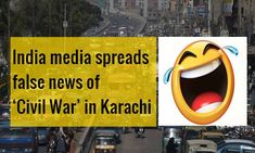 Indian media spreads fake news of 'Civil War' in Karachi