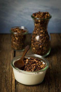 Super easy - Schoko Knuspermüsli aus der Pfanne