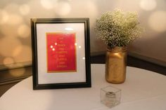 Sophisticated-Kate-Spade-Inspired-Bridal-Shower-Framed-Decor