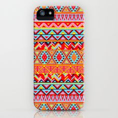 India Style Pattern (Multicolor) iPhone & iPod Case