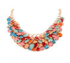 collar de moda multicolor
