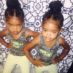 These 4-Year-Old Twins Are Taking Over the Modeling World