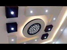 Top 40 Modern False Ceiling Design Ideas of - Engineering Discoveries Best False Ceiling Designs, Drawing Room Ceiling Design, Plaster Ceiling Design, Simple False Ceiling Design, Gypsum Ceiling Design, Interior Ceiling Design, House Ceiling Design, Ceiling Design Living Room, Ceiling Light Design