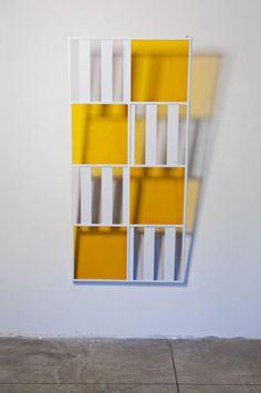 DANIEL BUREN    Couleurs et Ombres portées N°2, 2006 // Armory Show 2013: 10 Art Pieces with Light as a Subject