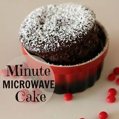 Minute Microwave Cake