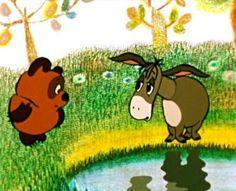 Ia Cohle and Papania the Pooh - Coub - The Biggest Video Meme Platform by Dik Ivanov Russian Cartoons, Free Cartoons, Eeyore, My Spirit Animal, Animation Film, My Flower, Flowers, Winnie The Pooh, Fairy Tales