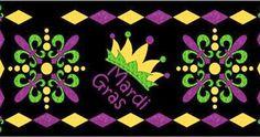 Quilt Block Patterns mardi gras   FunThreads Designs: Mardi Gras Pattern Revisited