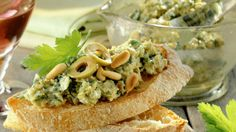 Olives, Filets, Eat Smarter, Bruschetta, Creme, Sandwiches, Tacos, Ethnic Recipes, Food