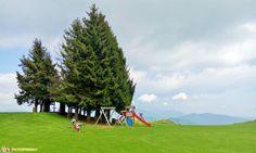 Aviatico - Il parco giochi proprio in cima al Monte Poieto