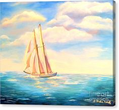Buy a 20.00 x 16.00 stretched canvas print of Shelia Kempf's Sailing Away for $85.00.  Only 9 prints remaining.  Offer expires on 05/23/2016.