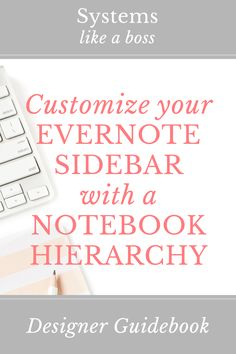 Creating a hierarchy in your Evernote sidebar is essential to organizing stacks and notebooks. Learn how I use naming conventions to outsmart the alphabet!