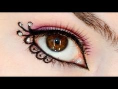 New Years Lace Eyeliner Design http://www.youtube.com/watch?v=xy3bdVKNt5M