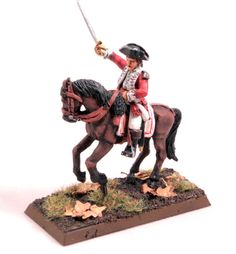 The Weasel's Page of Miniature Painting: Mounted British Marine Officer
