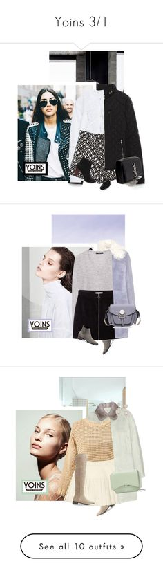 """""""Yoins 3/1"""" by chebear ❤ liked on Polyvore featuring yoins, Yves Saint Laurent, women's clothing, women's fashion, women, female, woman, misses, juniors and Miu Miu"""